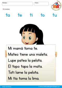 la letra T