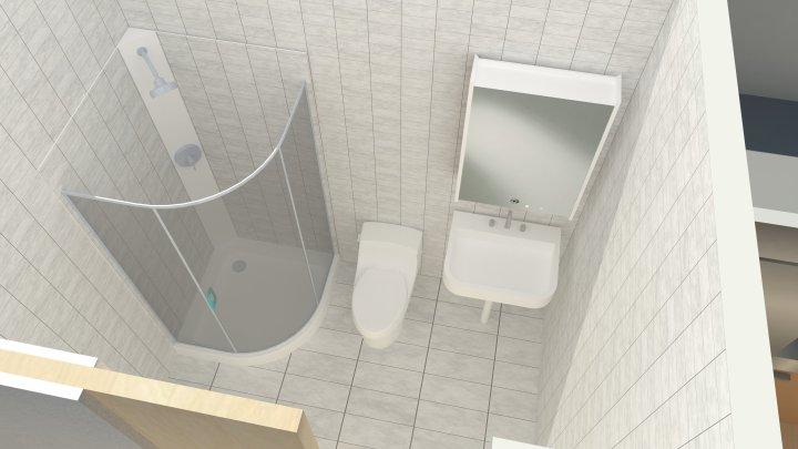 rendering for bathroom