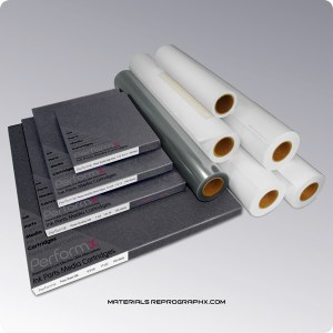 Inkjet media photo quality papers vinyls films canvases in rolls and cut sheets
