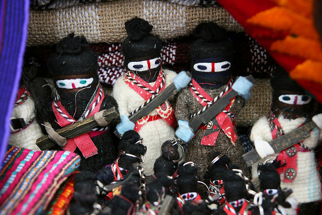 Zapatistas. Attribution: Nathan Gibbs https://flic.kr/p/3eMx1h Licensed under Creative Commons.