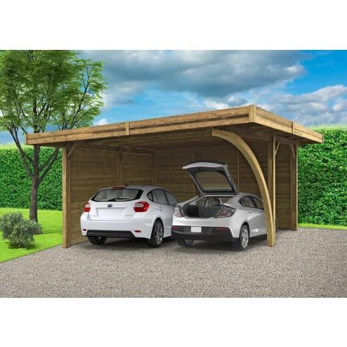carport en aluminium ou bois comment