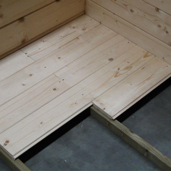 plancher pour abris de jardin autoclave chimay solid