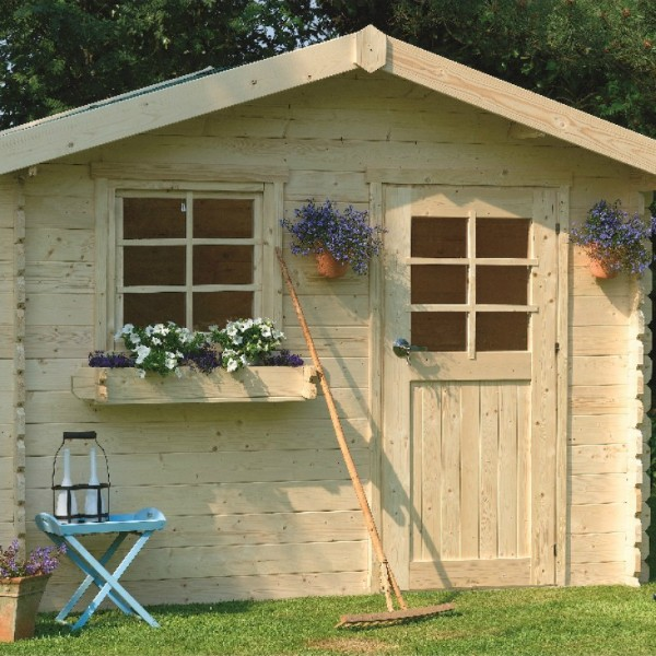 abri de jardin bois autoclave solid modele sologne 298x298 cm