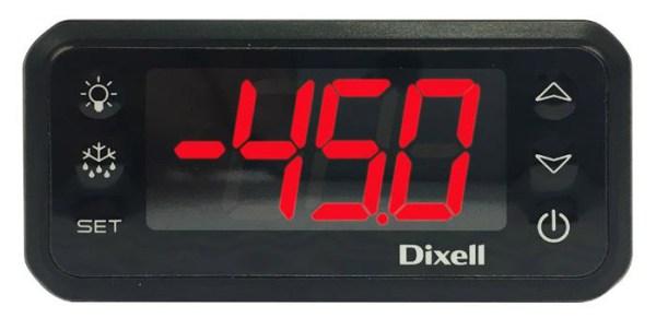 CONTROLLER ELECTRONIQUE DIXELL AVEC FONCTIONS D'ALARMES SONORE ET VISUELLE. CONTACT SEC