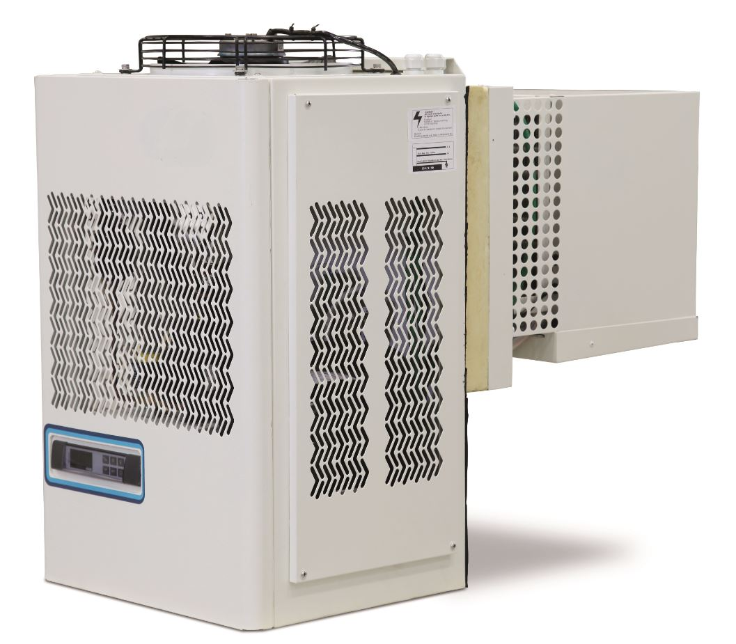GROUPE MONOBLOC CAVALIER NEGATIF -25 -15°C A TAMPON ISOLANT. PRECHARGE AVEC FLUIDE R452a. MODELE TROPICALISE