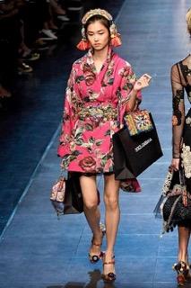 kimono Dolce Gabana