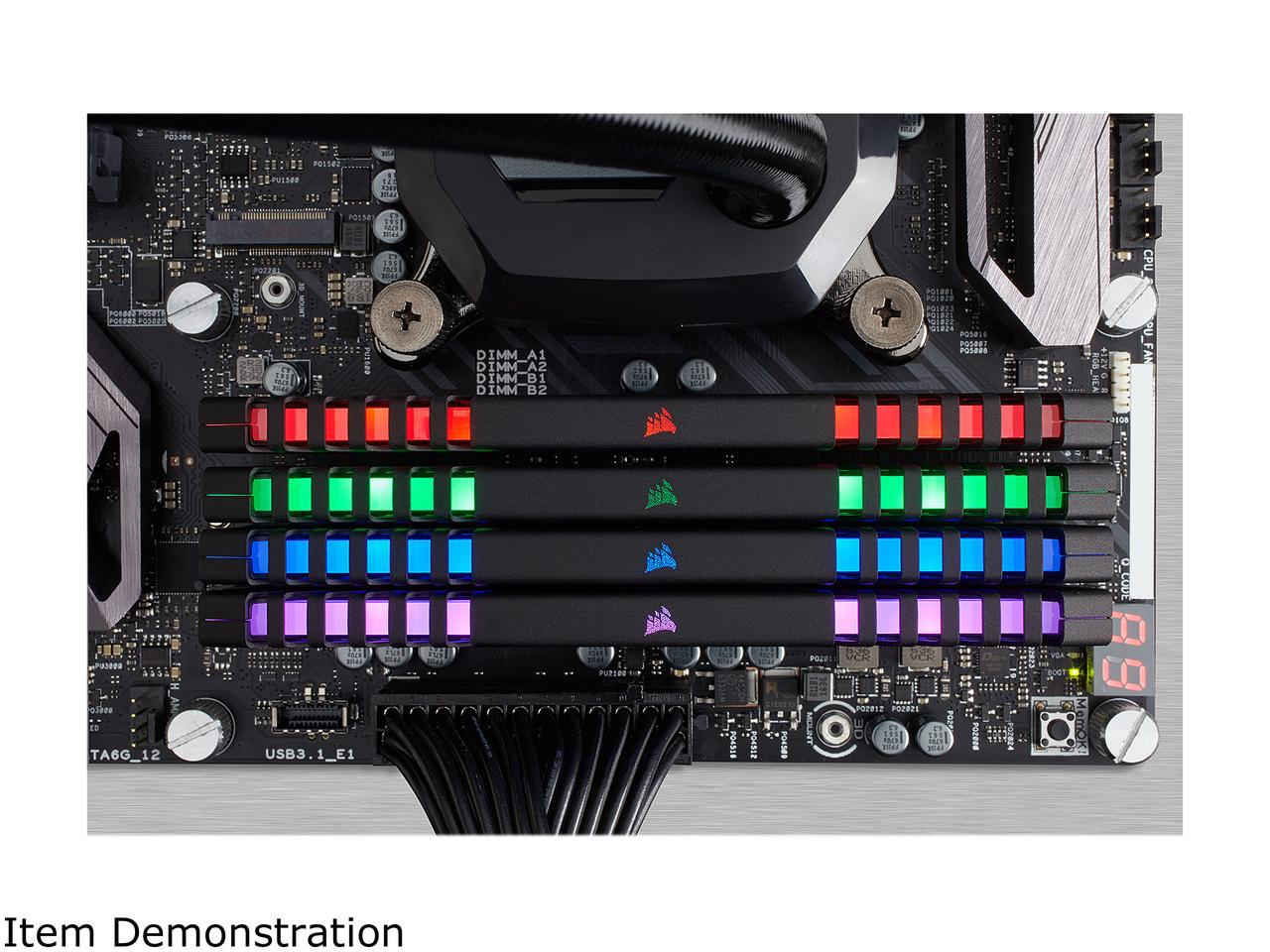 Corsair Vengeance RGB Series 32GB 4x8GB 3000MHz PC4