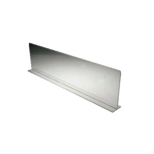 separateur en plexiglas pour vitrine refrigeree epaisseur 3 mm