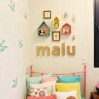 almofadas na decoração do quarto das crianças 17