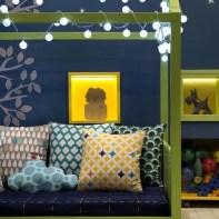 almofadas na decoração do quarto das crianças 28