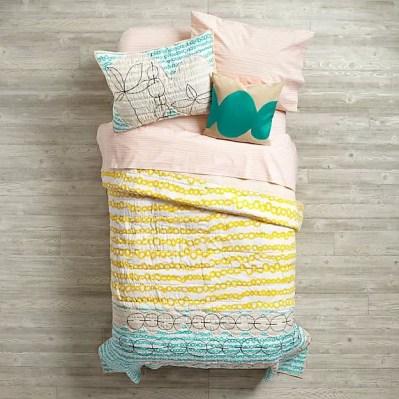 ideias de roupa de cama para as crianças24