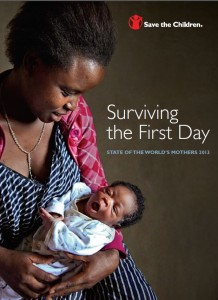 Save the Children - State of the World's Mothers 2013 - front cover