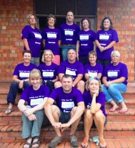 Team T-Shirt Photo at Kolping - Kampala
