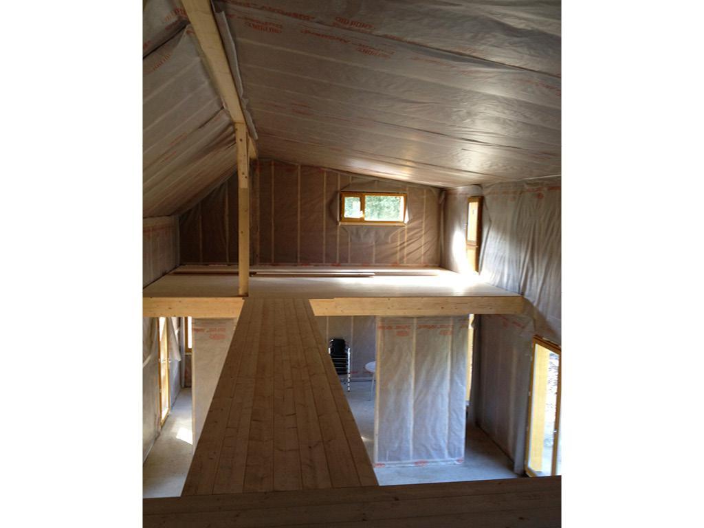 maison ossature bois construction
