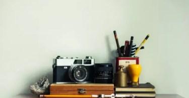 lifestyle blog writers desk