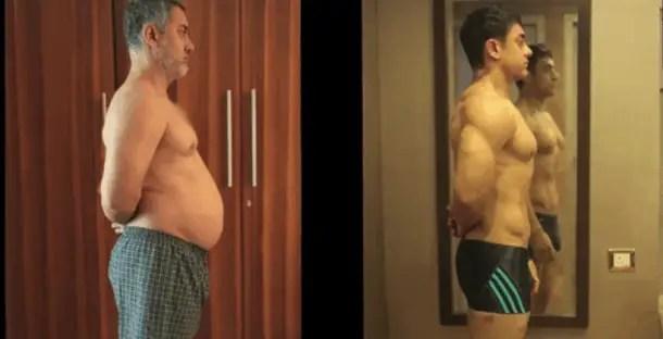 aamir khan bodybuilding