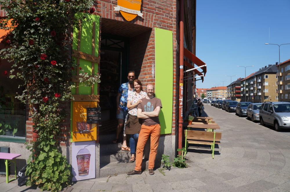 Green Queen – moder jord manifesterad i ett café