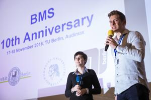 moderating BMS Phase II students Efstathia and Yannik, © Kay Herschelmann
