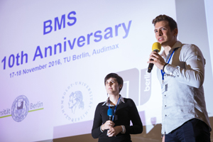 moderating BMS Phase II students Efstathia and Yannik, © Kay Herschelmann