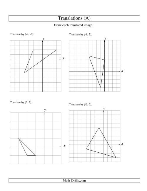 Geometry Tr Nsl Ti W Ksheet Free W Ksheets Libr Ry Downlo D