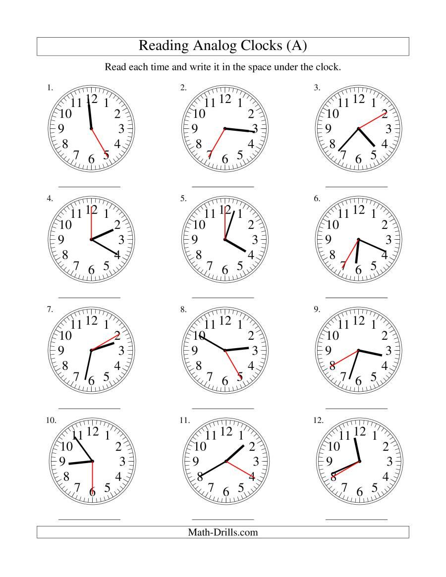 Re D G Time N N Log Clock 5 Sec D Terv Ls