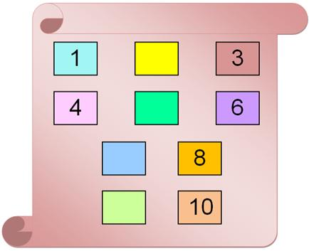 Worksheets On Missing Numbers From 1 To 10 Identify The Missing Numbers