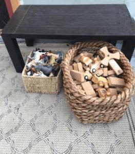 basket of blocks
