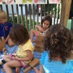 outdoor blocks play