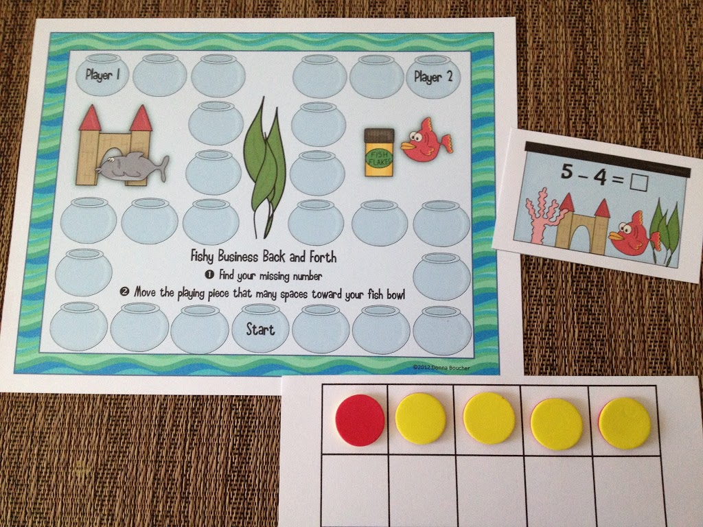 A Peek Inside Fishy Business Composing And Decomposing Numbers