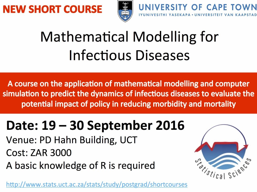 Mathematical Modelling for Infectious Diseases – a course at