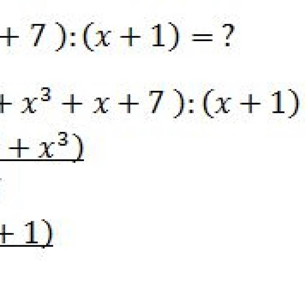 Dividing Polynomials Example 2