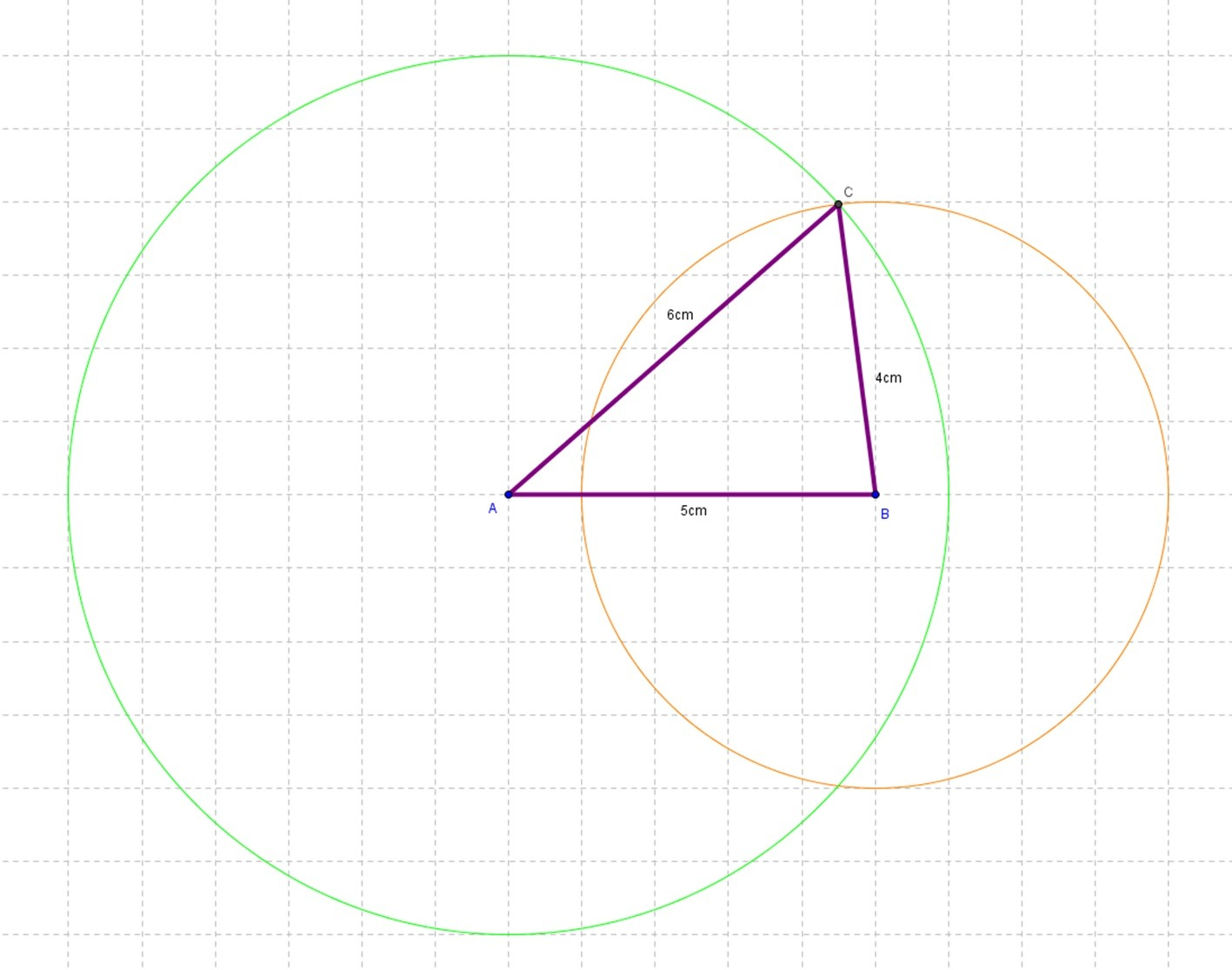 Constructing Scalene Triangle