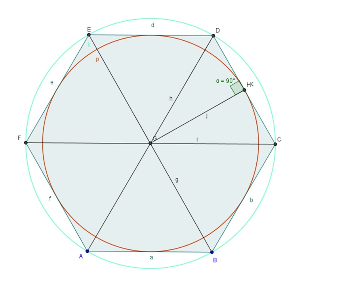 Angles Areas And Diagonals Of Regular Polygons