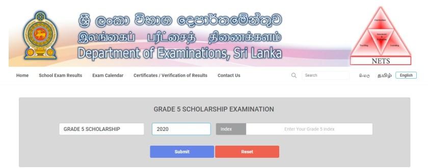 2020 Scholarship Exam Results