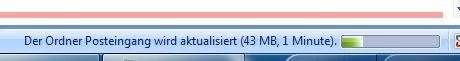 Outlook-Start Synchronisation
