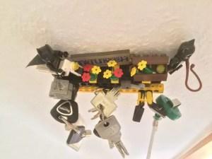 LEGO Schlüsselhalter Keyholder