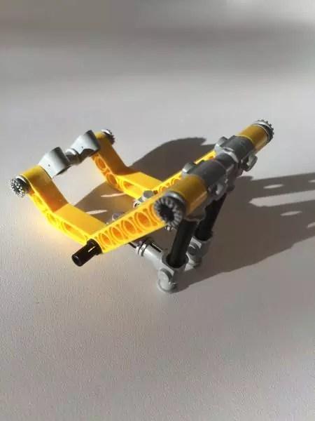 Foto Smartphone Halter aus LEGO 2