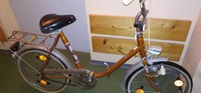 Wie ich zum Klappfahrrad kam – Altes Fahrrad entrosten und reparieren