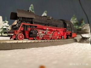 TT / BTTB Eisenbahn BR35 1111-0 Schlepptenderdampflok von der Seite