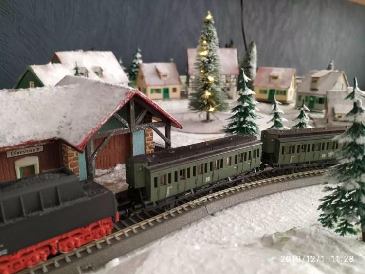 TT Eisenbahn Winterlandschaft fertig 3