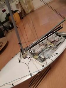 Blick in das Boot