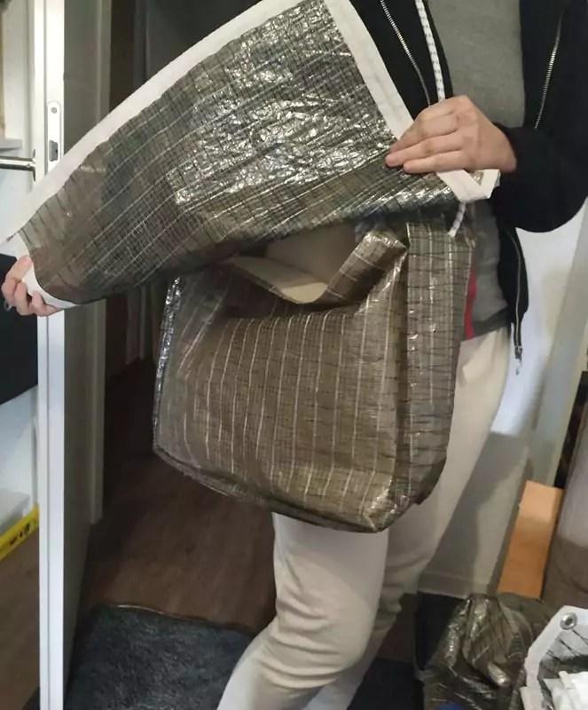 Tasche Aus Segel Naehen 11