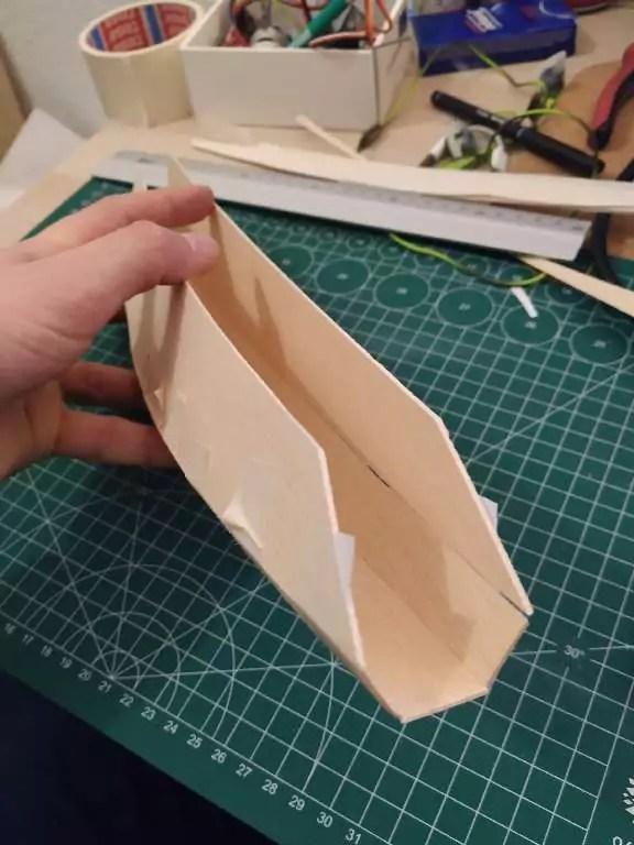 Footy Rc Segelboot Bauen 6
