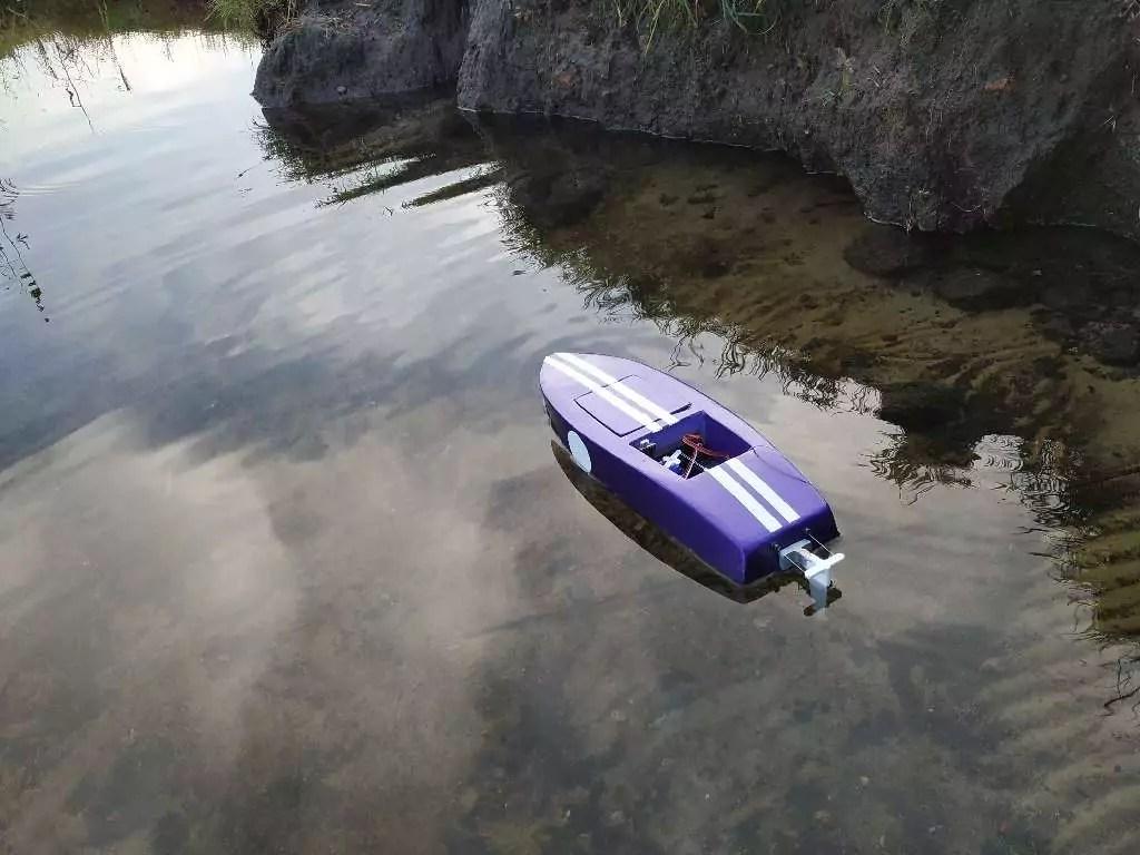 Crackerbox Rc Boat 34