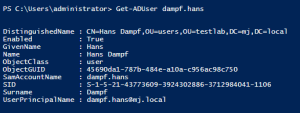 Active Directory Powershell 1
