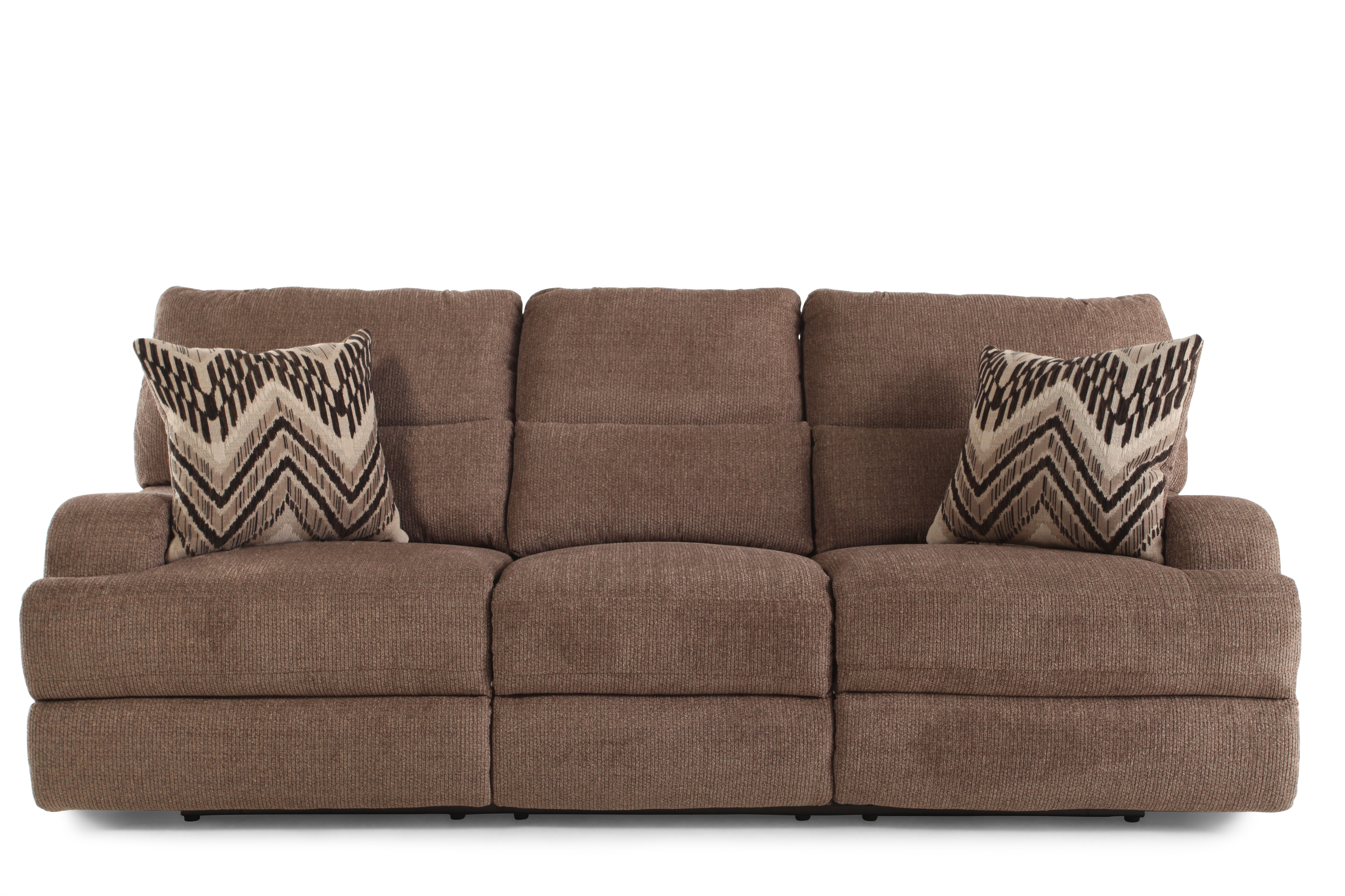 Mathis Brothers Sofas Traditional Queen Sleeper Sofa In