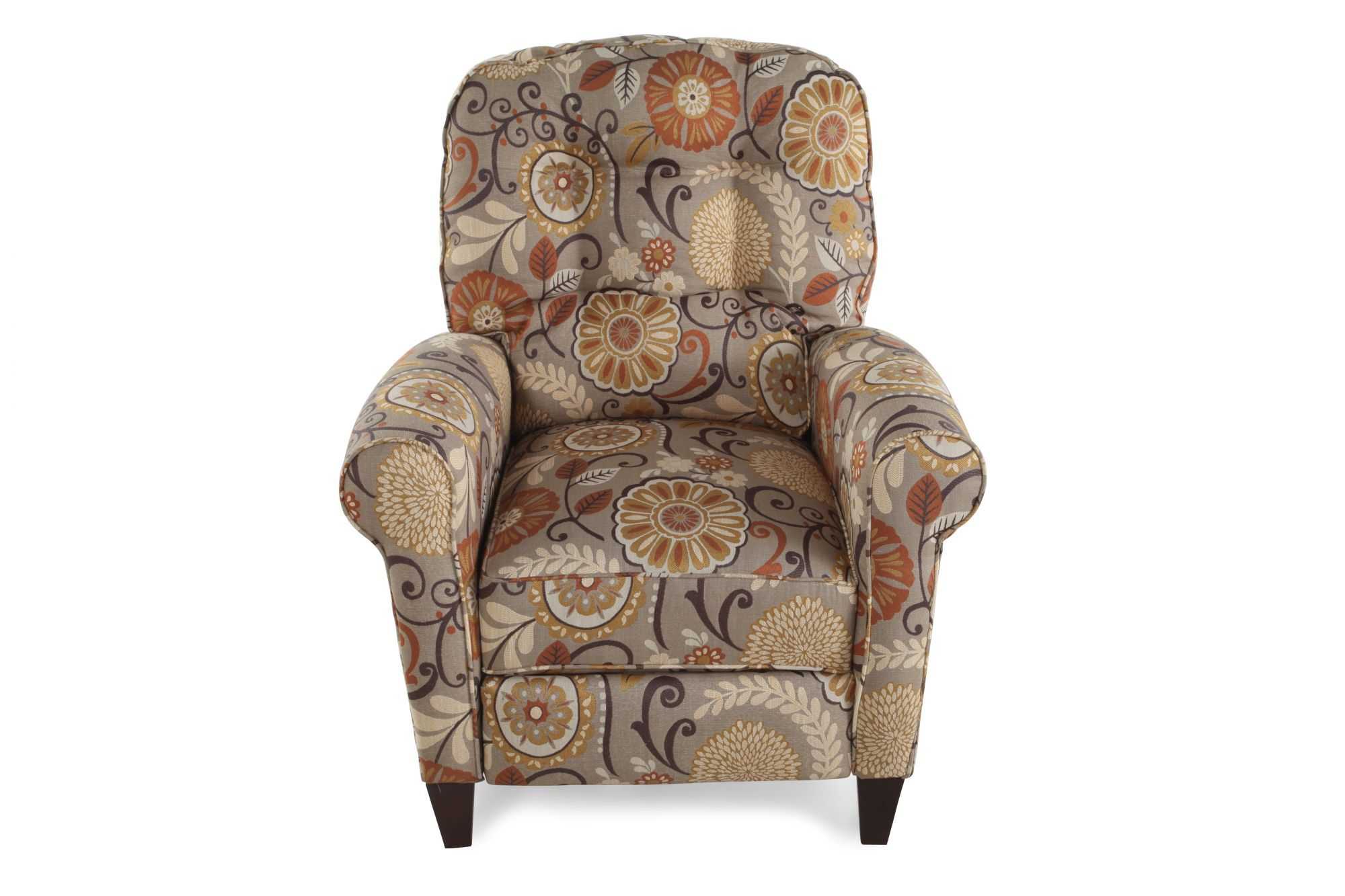 Floral Patterned 33 Wall Saver Recliner Mathis Brothers