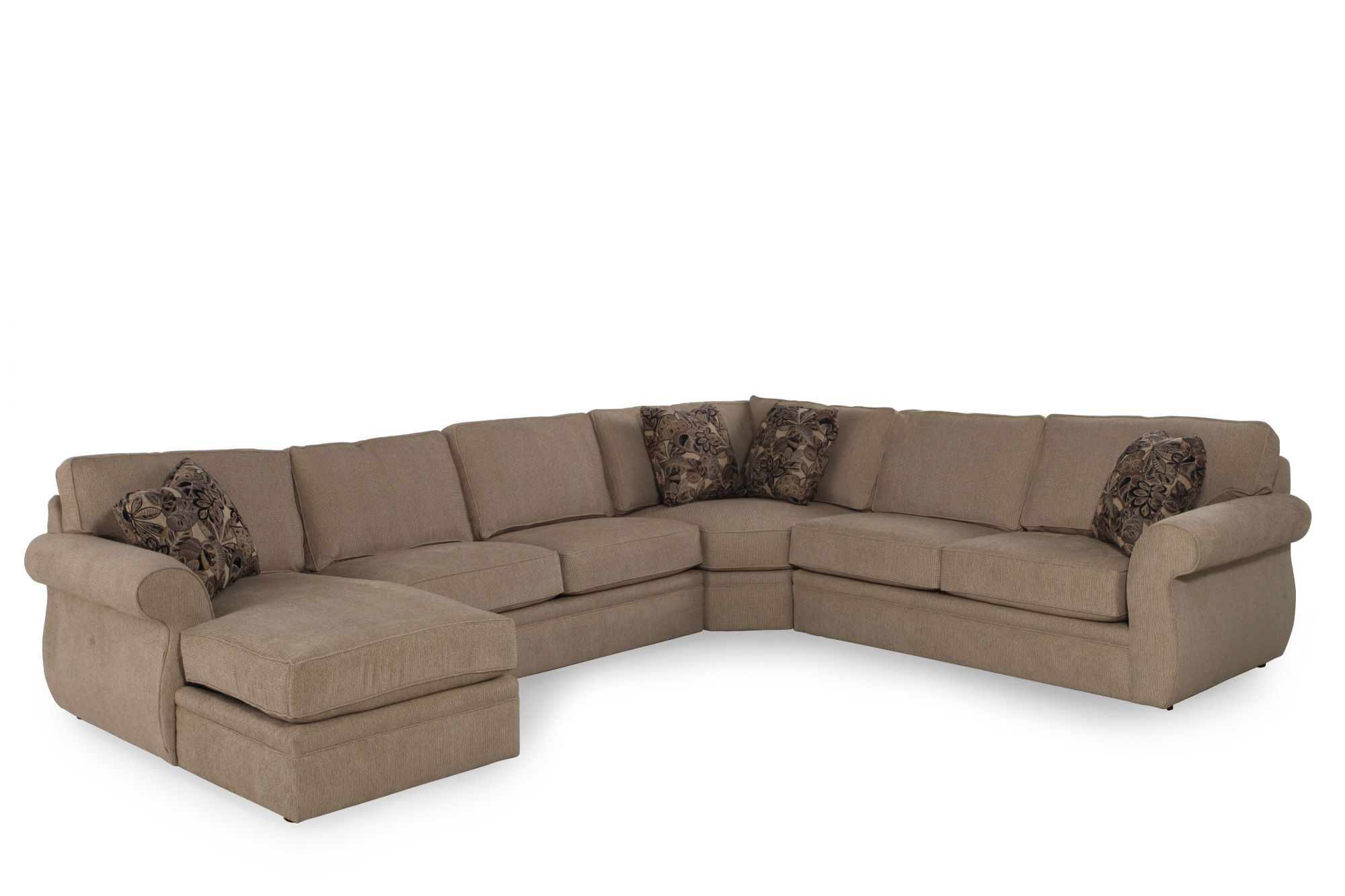 casual 147 sectional in sand mathis