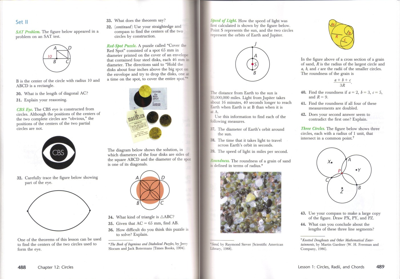 Review Of Harold Jacobs Geometry Seeing Doing