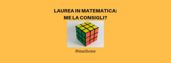 Laurea in matematica